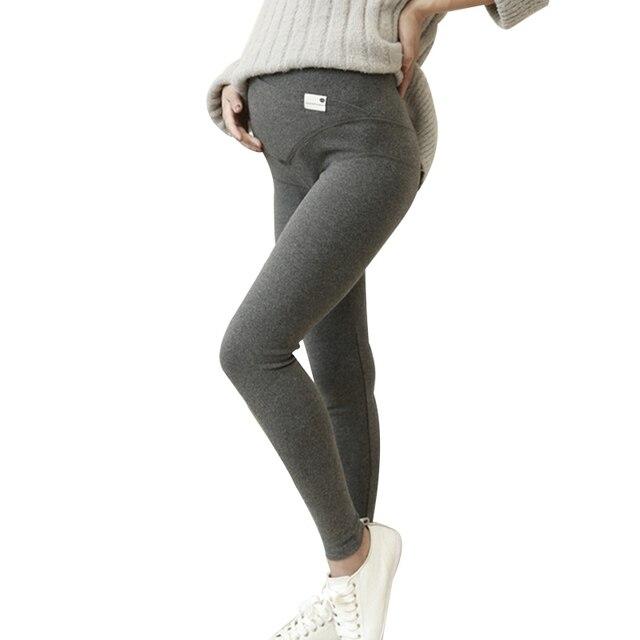 New Maternity Leggings for Pregnant Women Winter Warm Maternity Pant Pregnancy Clothes Belly Leggings Thicken Leggings