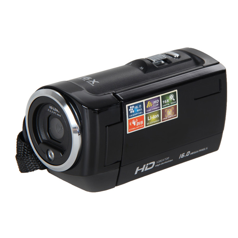 2017 HD 720P Digital Camera HD Video Camera Camcorder 16MP 16x Zoom COMS Sensor 270 Degree 2.7 inch TFT LCD Screen suncore 1080p 5mp 12x hd lcd screen digital camera telescope binoculars video camera coms usb sensor with recording function
