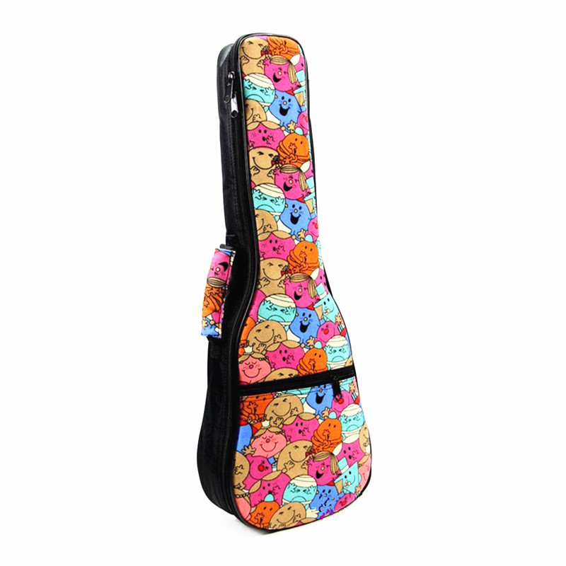 ZONAEL 21 23 26 Inch Ukulele Case Hawaii Guitar Backpack Carry Bag Retro Style Portable Cotton Padded Case Uku Guitar Parts Acce|Other Parts & Accessories| - AliExpress