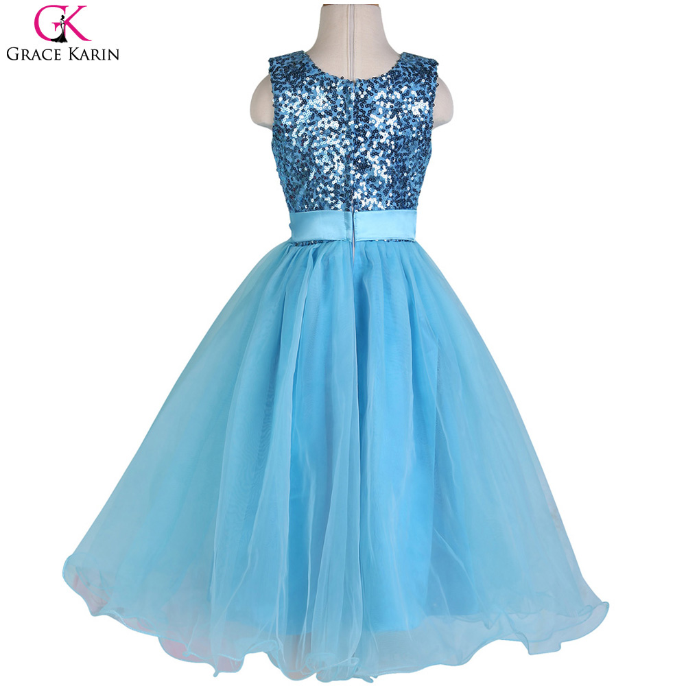 Grace Karin Girl Prom Dress Formal Gowns Sequin Glitter Glitz Events ...
