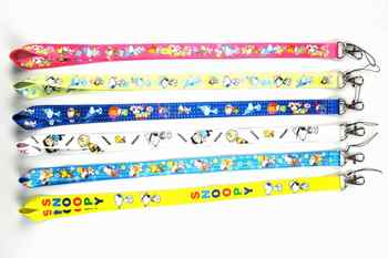 100 Pcs Dogs Cartoon Lanyard ID badge Holders Sport neck strap keychains Wholesale Free Shipping - SALE ITEM Jewelry & Accessories