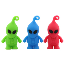 Cartoon Alien USB Flash Drives Thumb PenDrive U Disk USB Creativo Memory Stick Wholesale 4GB 8GB 16GB 32GB 64GB S667