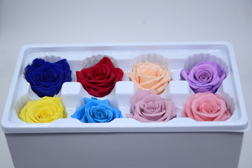 10 boxslot upscale decorations diy preserved flowers 8pcslot color mixing you - Upscale Halloween Decorations