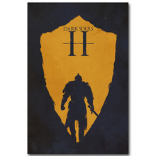 Dark Souls 3 Art Silk Fabric Poster Print 13x20 24x36inch Hot Game Picture for Living Room Wall Decoration Gift 006