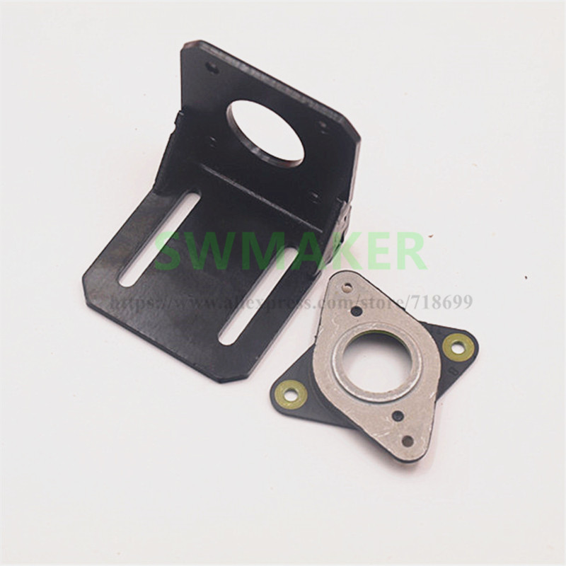 2019 Fashion Swmaker Nema 17 Metal Mounting Brackets With Rubber Anti-vibration Dampers Stepper Motor 3d Printer Cnc Factory Direct Selling Price