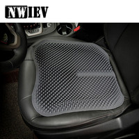 NWIEV Anti skid massage cushion car seat cover For Lada Granta Vesta Renault Captur 4 Logan Audi A3 A4 B6 B8 Alfa Romeo 159 156
