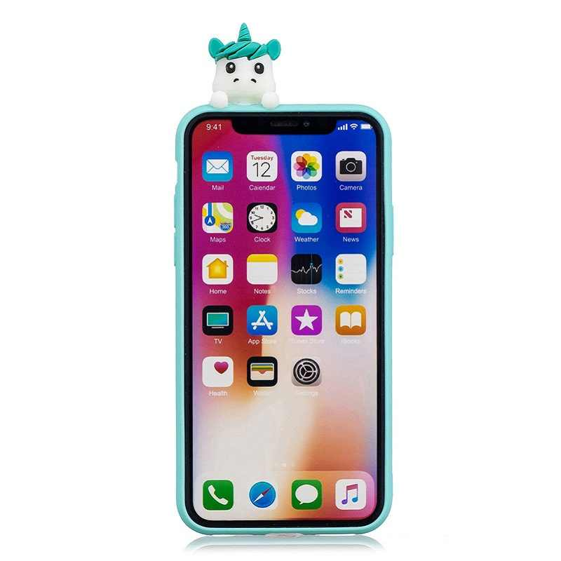coque iphone xs silicone 3d