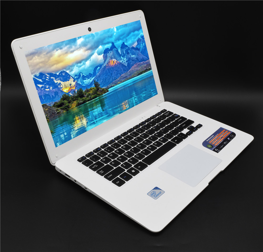 Laptop PC 8GB RAM 64G SSD+750G HD Ultrabook Windows 10 Or 7 Computer Fast CPU Intel 4 Core AZERT German Spanish Russian Keyboard
