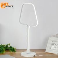 Новый креативный дизайн светодиодный свет стол современный Декор лампы диаметром 20 см гостиная читальный зал освещения