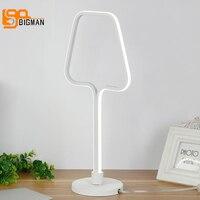 new creative design LED table light modern decor lamps dia 20cm living room reading room lighting