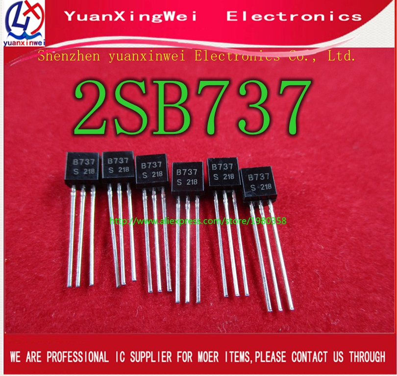 Free Shipping 20pcs/lot 2SB737 Transistor B737 TO-92 Package New Original