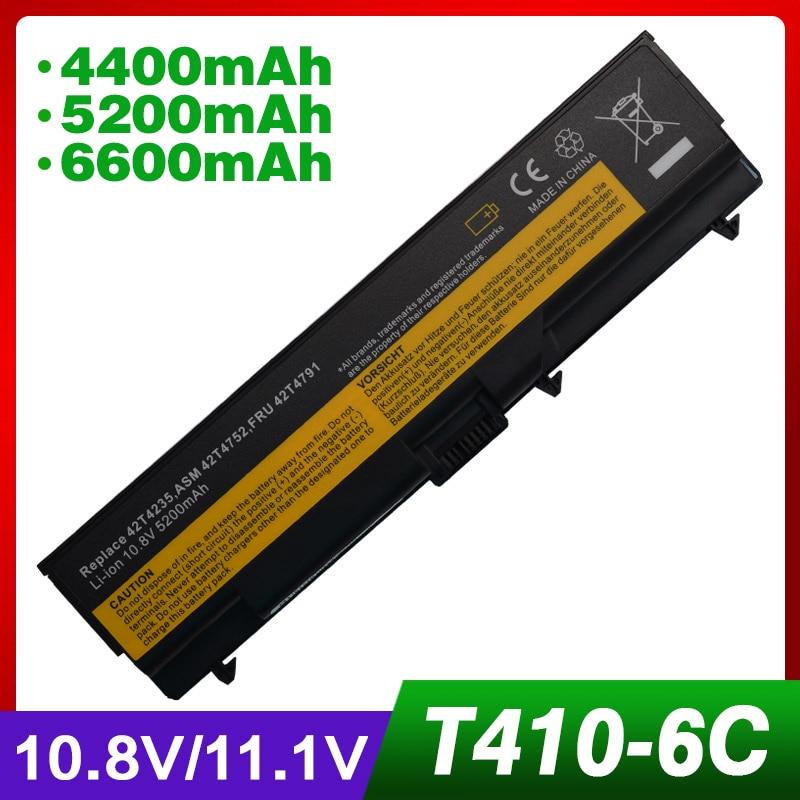 4400 mAh batterie dordinateur portable pour Lenovo ThinkPad E40 E50 Bord 0578-47B E420 E425 E520 E525 L410 L412 L420 L421 L510 L512 L520 T4104400 mAh batterie dordinateur portable pour Lenovo ThinkPad E40 E50 Bord 0578-47B E420 E425 E520 E525 L410 L412 L420 L421 L510 L512 L520 T410