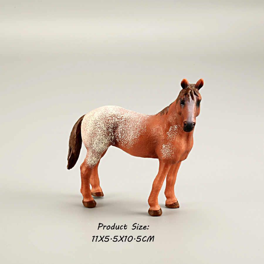 Clássicos Colecionáveis Cavalo Figuras Brinquedos de Simulação de Cores Sortidas Cavalo modelo PVC estatueta Playset brinquedo Educativo para As Crianças