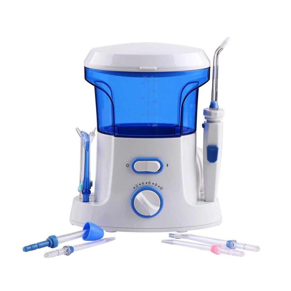 600 ml Soie Dentaire Dentaire Électrique Oral Irrigateur Portable D'eau Orale Soie Dentaire Soie Dentaire Outil Soins Des Dents Cleaner D'hygiène Ensemble