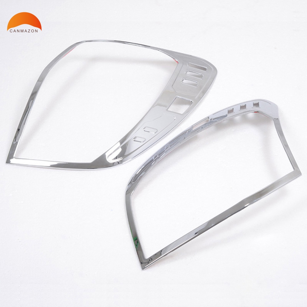 For Chevrolet Captiva 2009 2010 2011 2012 ABS Chrome Car Parts Tail Light Protector Frame Cover rear lamp shell trim fit for vw volkswagen tiguan 2010 2011 2012 abs chrome front rear headlight tail light lamp cover trim car accessories