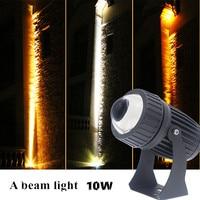 10pcs Ultra Bright LED Floodlight  Waterproof spotlight 10w R+G+B A beam light Wash the wall lamp Landscape lighting engineering