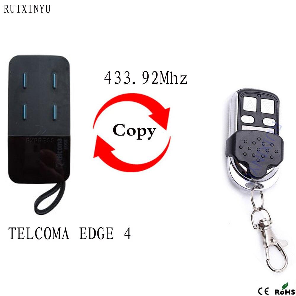 Telcoma edge controle remoto 433,92 mhz porta da garagem telcoma 433mhz controle remoto