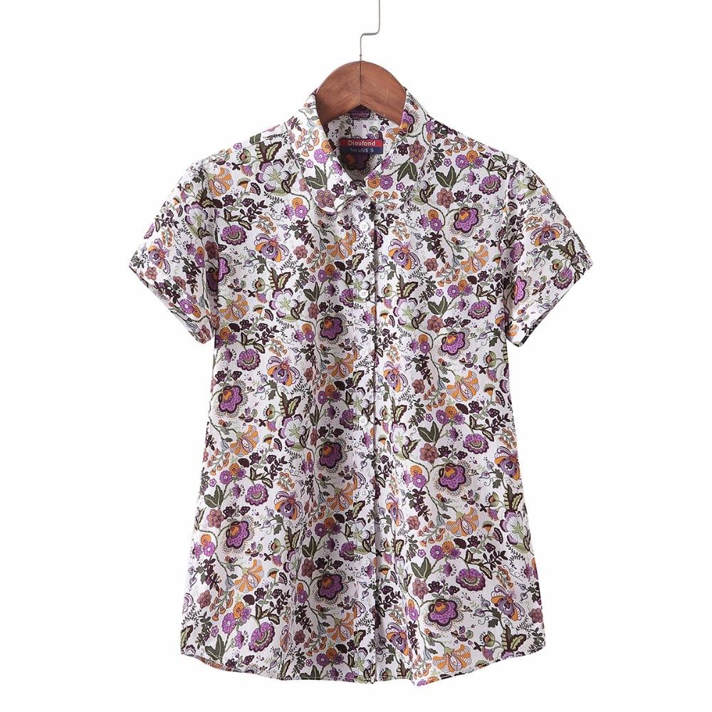 Aliexpress Buy New Casual Shirt Short Sleeve Blouse Women