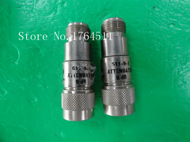 [BELLA] MECA 611-9-1 DC-2.5GHz 9dB 2W N RF Coaxial Fixed Attenuator  --2PCS/LOT