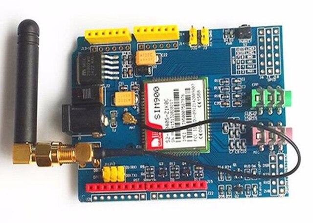 GSM GPRS Escudo para Arduino Com Antena Testado Armazenar Todo o Mundo GSM SIM900 Escudo Placa de Desenvolvimento Kit diy Criador