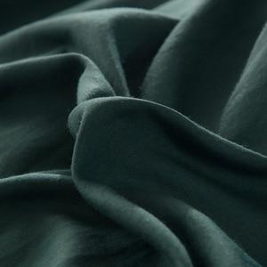 Image 4 - Einfache Feste Farbe Bettwäsche Set Teen Erwachsene Bettbezug Blatt Bettdecke Königin König Größe Bettwäsche Juegos De Cama
