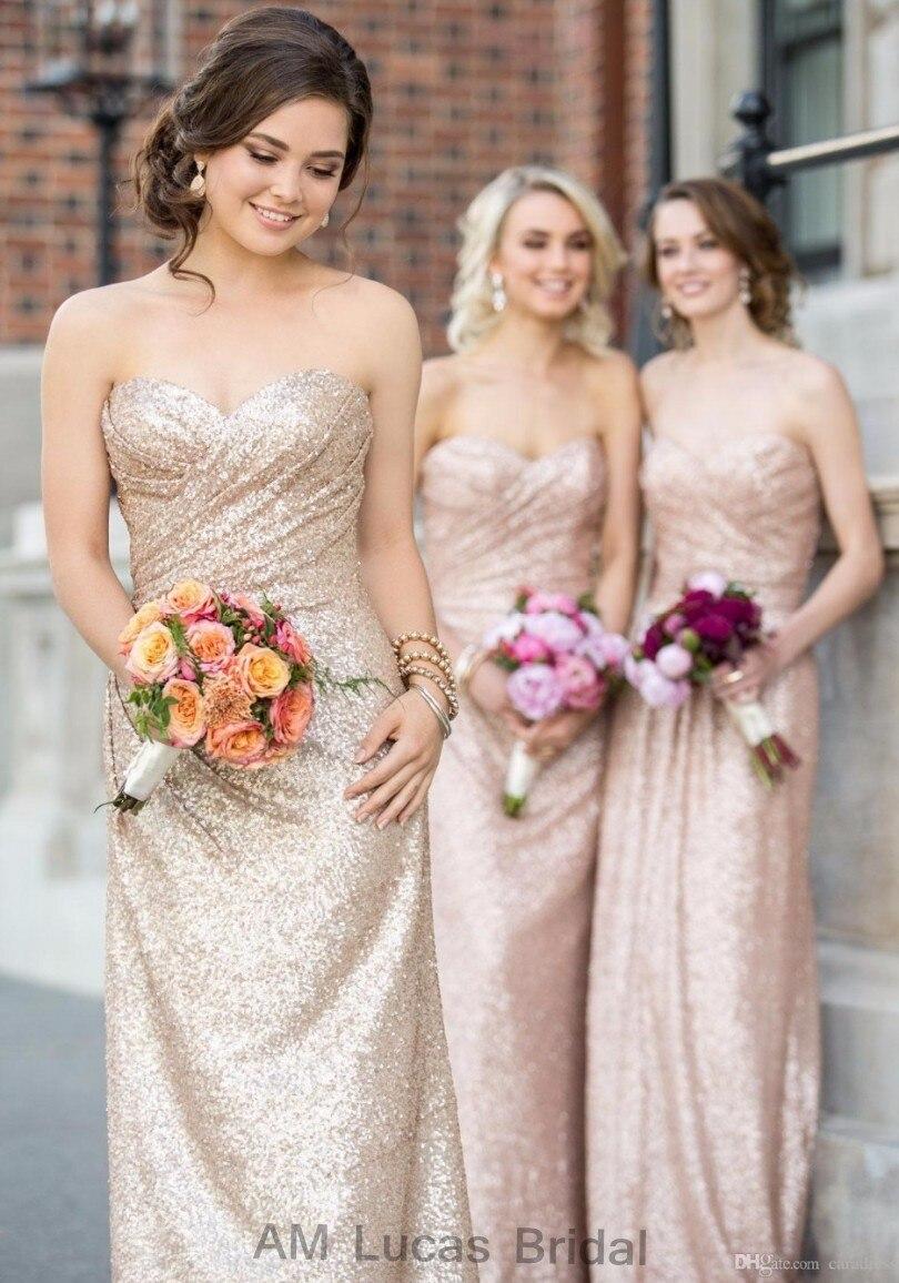 online shopping rose gold flower girl dresses