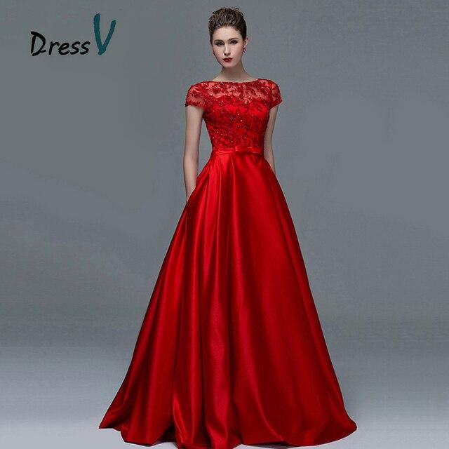 Robe de soirРіВ©e rouge dentelle