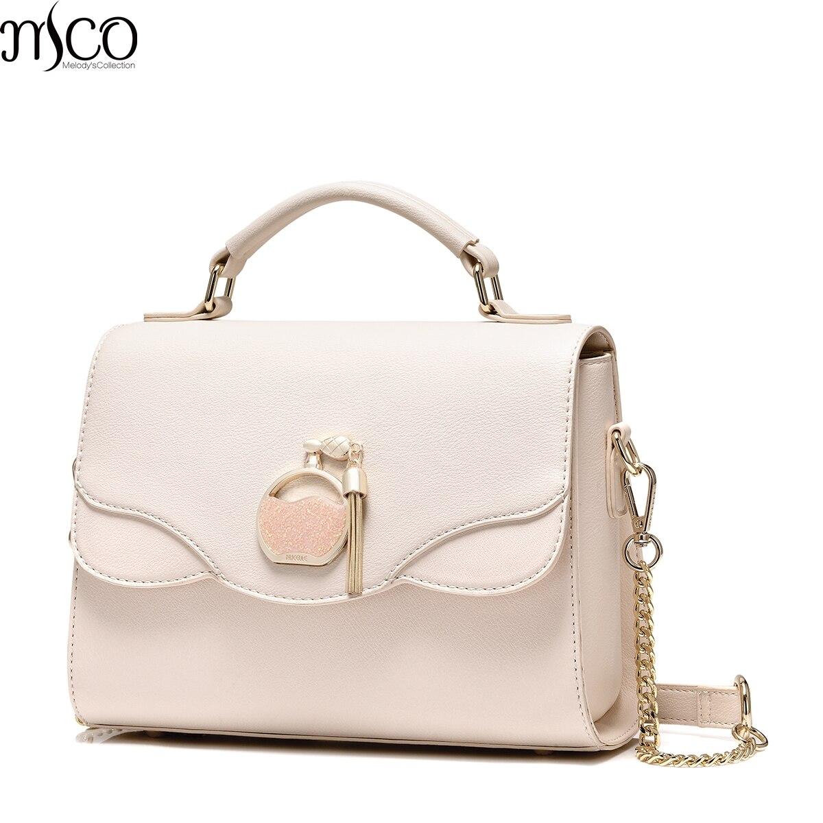 2017 Elegant Sequined Perfume Bottle Women Flap Handbag Brand Design Luxury Tassels Shoulder Bags Ladies Crossbody