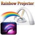Cuna Guardería Móvil Juguete Rainbow Proyector de La Noche Luz Luz de Las Estrellas Muestran 2