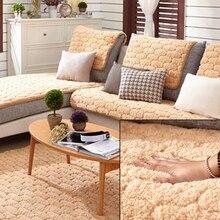 Ecológico Anti-ácaros Manta Cubierta de la Funda de Sofá para sala de estar/Salón bereber de lana Sofá Cubre 4 colores 2/3 asiento