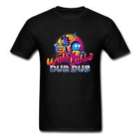 Rick and Morty Neon   T     Shirt   Short Sleeve Men's Clothes Hiphop Couple Big Size O-neck Cotton Vaporwave Rick Men's Clothes
