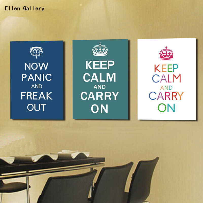 Dorable Keep Calm And Carry On Wall Art Pictures - Wall Art Design ...