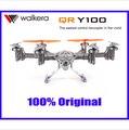 F08278 Walkera QR Y100 5.8 Ghz FPV Hexacopter Drone Helicóptero con Cámara DEVO 7 Transmisor