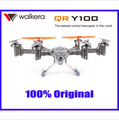 F08278 Walkera QR Y100 5.8Ghz FPV Hexacopter Drone Helicopter with Camera DEVO 7 Transmitter