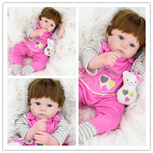 22 inch bebe silicon reborn babies full body mini reborn baby girl that look real doll reborn 55 cm reborn babies vinyl dolls warkings reborn