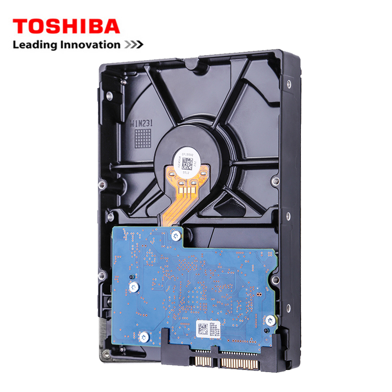 "Toshiba brand 500GB desktop computer 3.5"" internal mechanical hard disk SATA3 3-6Gb / s HDD 32MB Cache 500GB 7200RPM buffer 3"