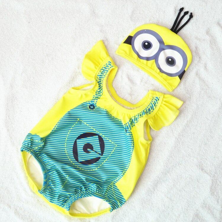 3D Cartoon Kształt jednoczęściowy stroje kąpielowe dla dzieci z - Odzież dla niemowląt - Zdjęcie 2