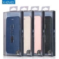 Luxury Cowboy Ultra Thin Nostalgia PU Leather Flip Phone Case For Iphone 6 6s Plus