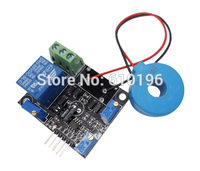 DC 5V Current Detector Sensor Module AC Short Circuit Detection Max AC 50A Switch Output