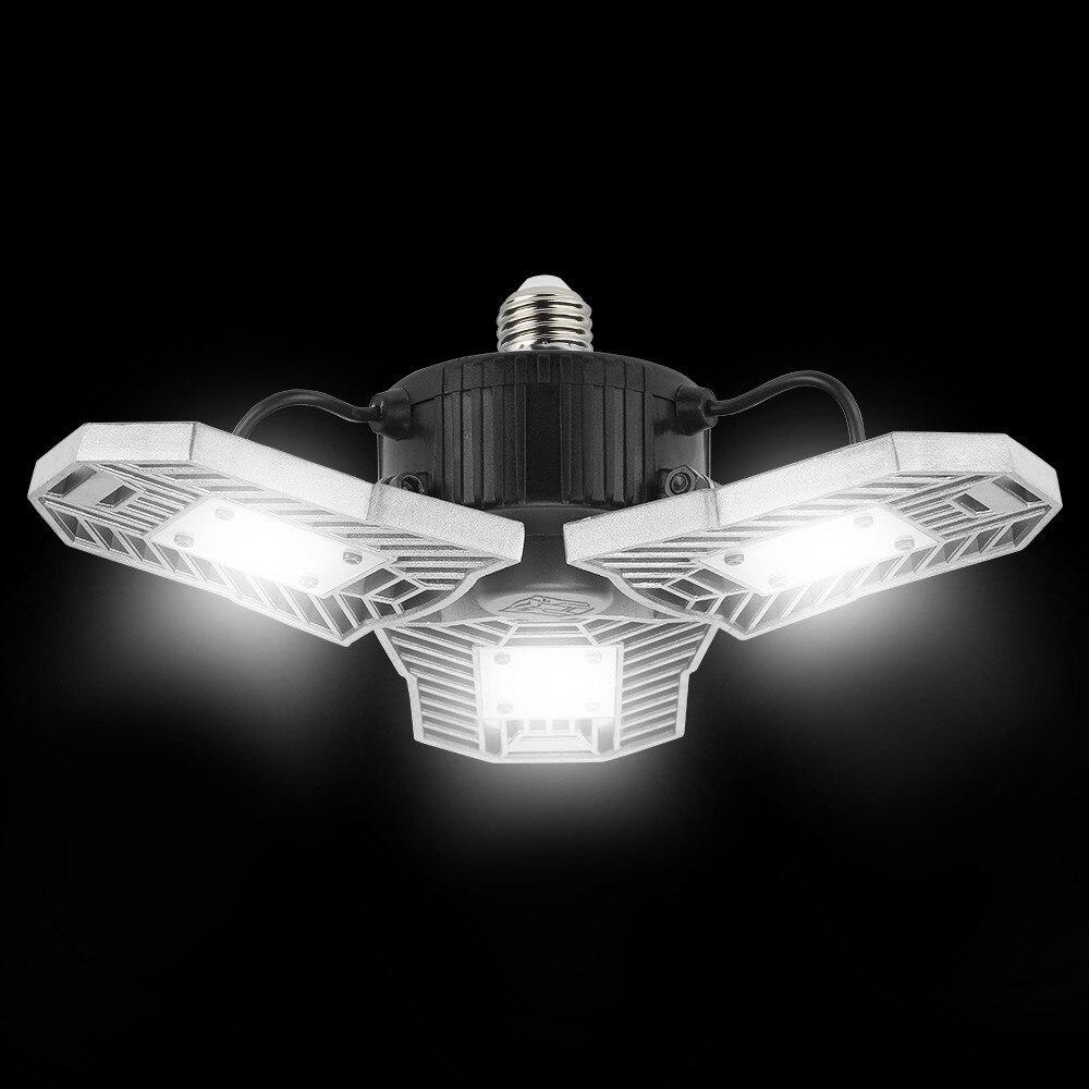 Indoor Factory Warehouse Light Led High Bay Light 60w High: Aliexpress.com : Buy 60W E27 High Power Deformable
