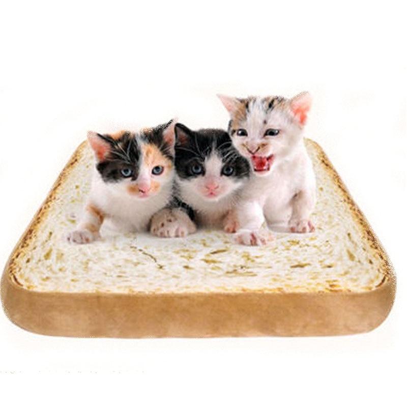 Aliexpress.com : Buy Pet Cats Bread Toast Beds Dog Cushion