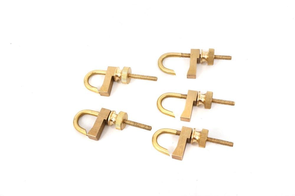 5pcs New Violin Making Tool brass repair Violin crack clamp Luthier tool Adjustable