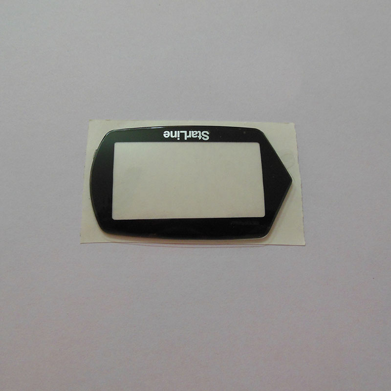 Keychain glass for Starline A61 B6 lcd remote A61 B6 glass free shipping(China)