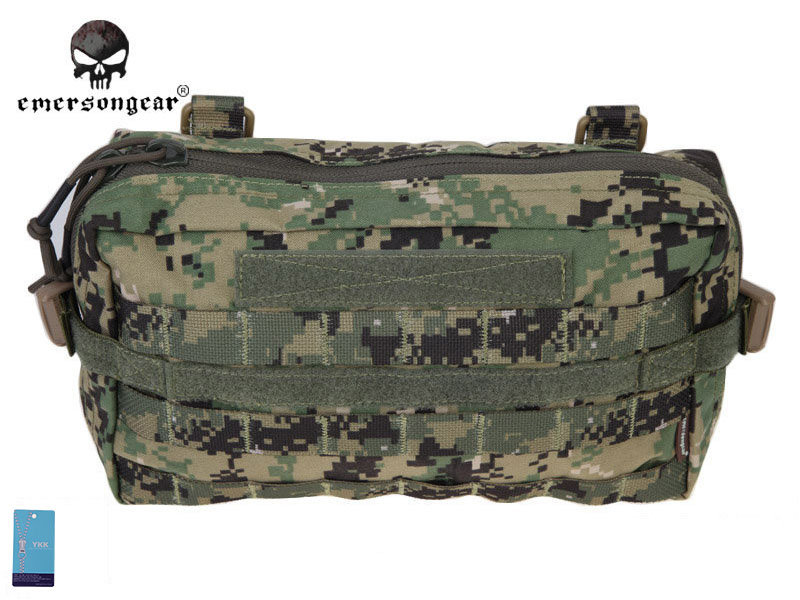 Emersongear Fight Utility Pouch Multi-functional Emerson Molle Military Nylon Waist Bag Combat Gear EM8347D AOR2 molle military combat slr camera bag multi functional army combat single shoulder messenger bag made of cordura nylon 1000d