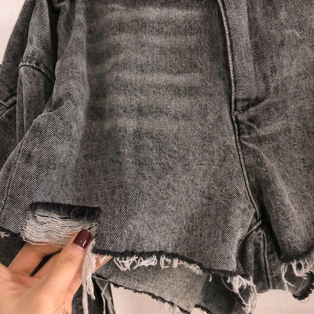 Pièces 19 Nouvelles Faux 1 Denim Rmsx Deux Shorts 2019 Femmes Mode xPHT1XnO