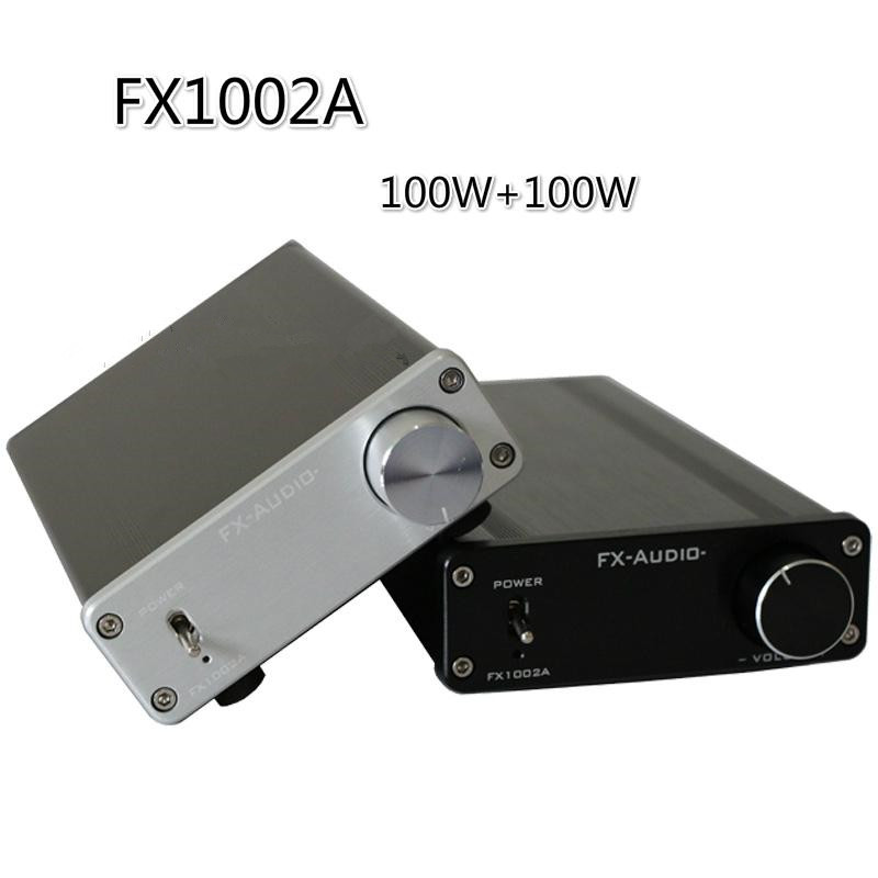 все цены на FX-AUDIO FX1002A TDA7498E TL082 audio High-power digital power amplifier audio A1 preamp 160W+160W amplificador audio онлайн