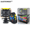 1080P 60FPS 16MP HD Actoin Camera Gopro Hero 2 Style Wifi Action Cam with Remote 145D Wide Lens 60m Waterproof Sports Camera