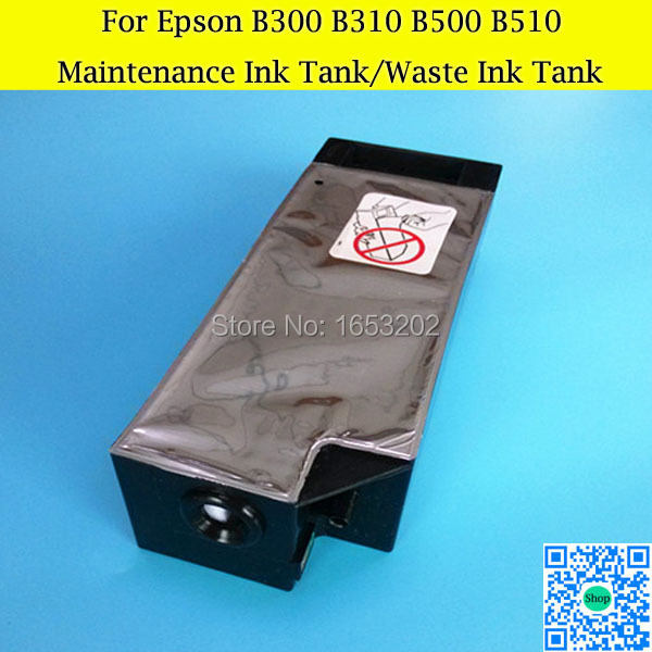 Waste/Maintenance Ink Tank For Epson Stylus PRO B308 B508 B308dn B508dn B318dn B518dn Printer best price stable maintenance ink tank for epson surecolor t3070 t5070 t7070 printer waste ink tank
