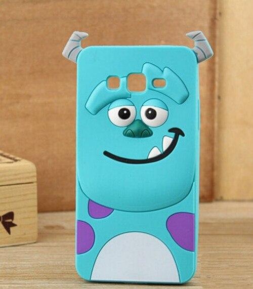 3D Silicone Case For Coque Samsung Galaxy Grand Neo Plus i9060i i9062 Duos i9082 Stitch Minnie Mouse Sully Minions Rubber Cover