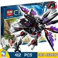412 шт. Бела 10060 razar ЧИ Raider сборки Модели Строительные Блоки Игрушки Для Детей Мальчиков Совместимые С Lego